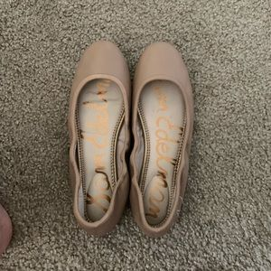 Sam Edelman Nude Flats - 7.5